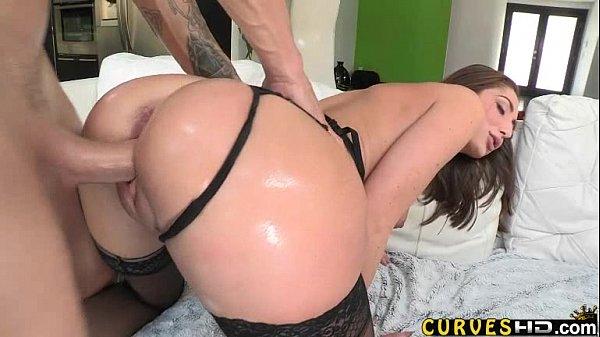Cena de sexo no pelo com rabuda linda